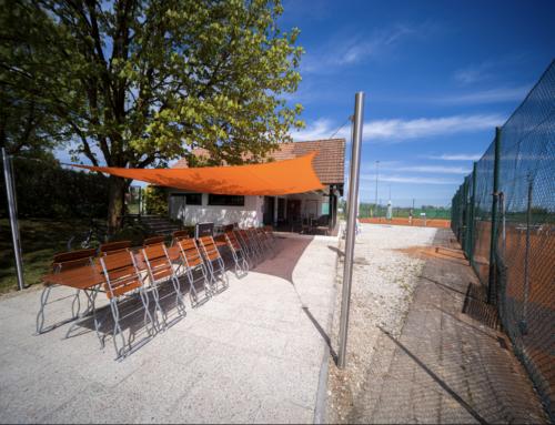 Die neue Terrasse wartet auf euch !